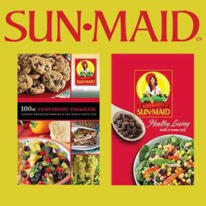 Free Sun-Maid Healthy Living Cookbook or 100th Anniversary Cookbook