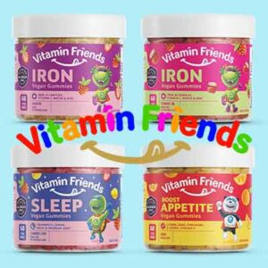 Free Vitamin Friends – Healthy Kids Party Pack