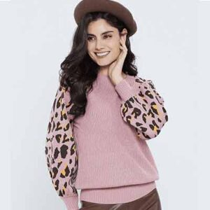 Free Animal Print Sweaters