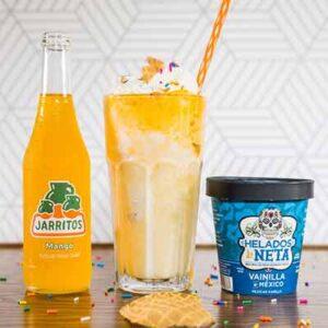 Free Jarritos The All-Natural Fruit-Flavored Sodas and Helados La Neta Ice Cream