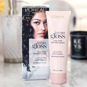 Free L'Oréal Le Color Gloss One Step In-Shower Toning Gloss Sample