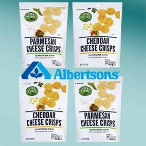 Free Open Nature Bagged Cheese Crisps