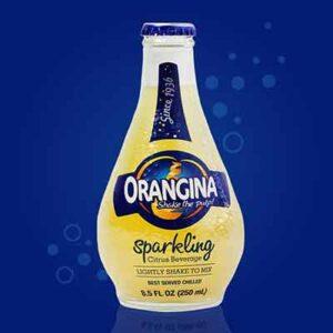 Free Orangina Sparkling Citrus Drink