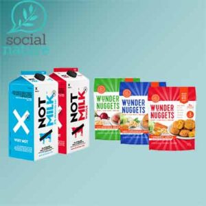 Free Plant-Based Nuggets and Milk Alternative