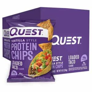 Free Quest Loaded Taco Protein Chips Sample