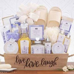 Free Bath/Body care sets and Storage containers