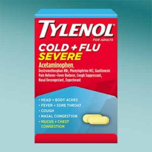 Free Cold & flu pain relief and No sugar added candy products