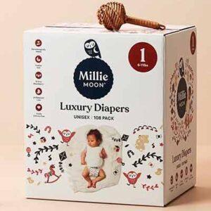 Free Millie Moon Baby Diaper Sample Pack