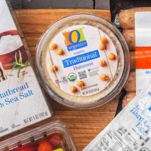 Free O Organics Hummus