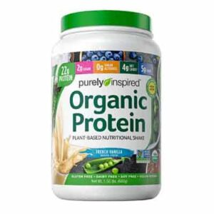 Free Purely Inspired Organic Protein – French Vanilla flavor