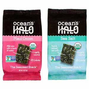Free Seaweed Snacks by Ocean's Halo