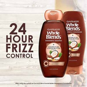 Free Smoothing Coconut Oil and Cocoa Butter Extracts Shampoo and Conditioner