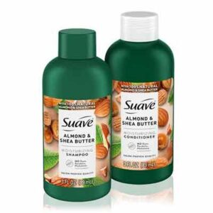 Free Suave Almond & Shea Butter Moisturizing Shampoo and Conditioner Samples