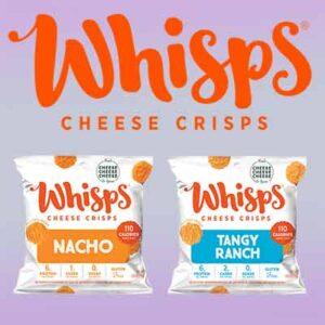 Free Whisps Cheese Crisps Sample