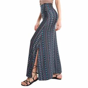 Free Fold-Over Long Maxi Skirts