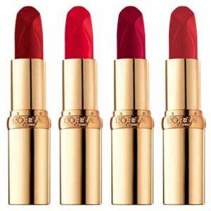 Free L'Oreal Paris Colour riche reds of worth Lipstick